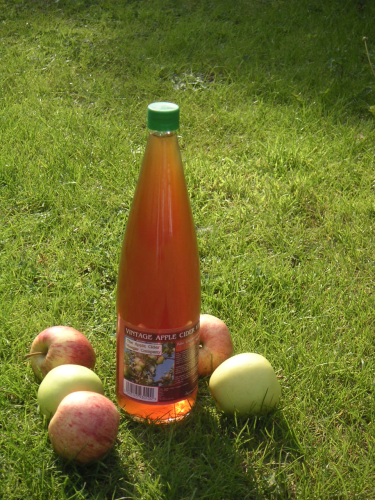 Apple Cider Vinegar With 'Mother' 1 litre (plastic bottle)