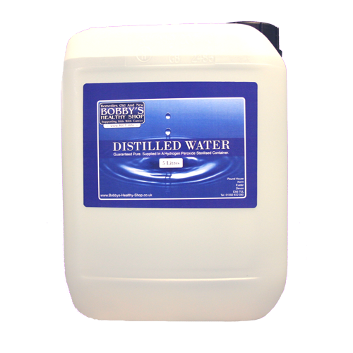 Distilled Water - 5.5 Litres