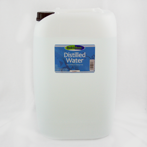 Distilled Water - 25 litres
