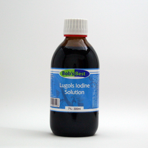 Lugol's Iodine 300ml - 7%