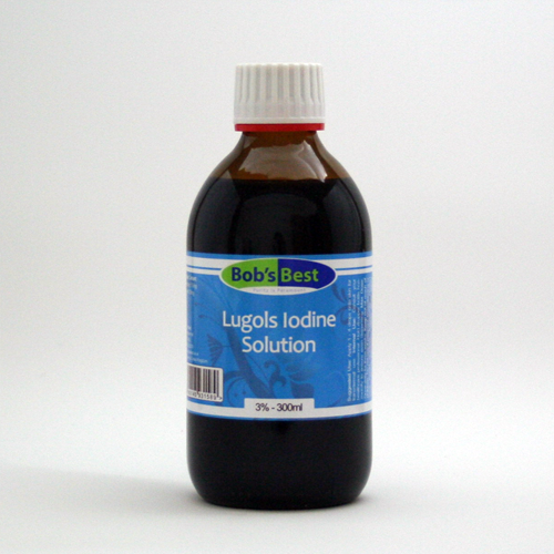 Lugol's Iodine 300ml - 3%