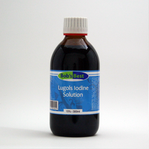 Lugols Iodine 300ml - 15%