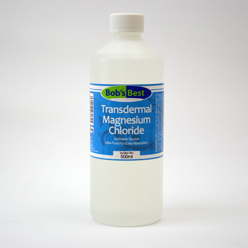 Transdermal Magnesium Chloride Sensitive Skin 15% 500ml