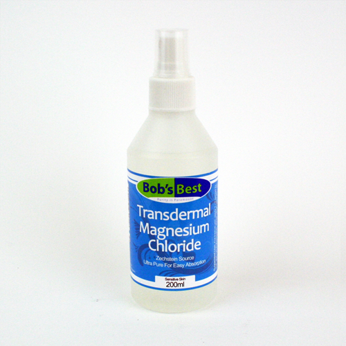 Transdermal Magnesium Chloride - Sensitive Skin (15%) Formula - 200ml spray