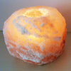Himalayan Crystal Salt Tea Light Holder - 1kg