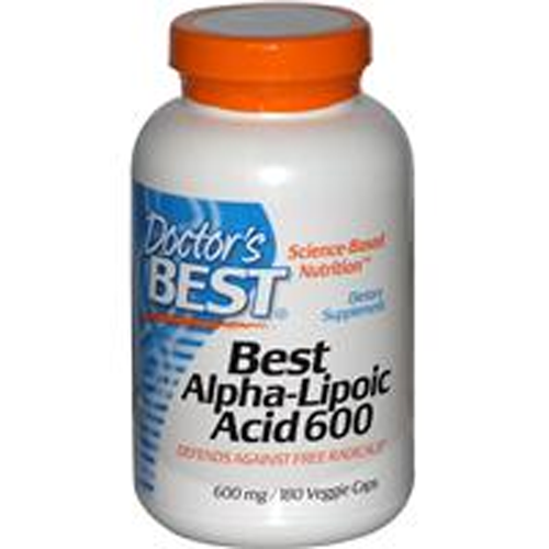 Alpha Lipoic Acid - 180 - 600mg Caps
