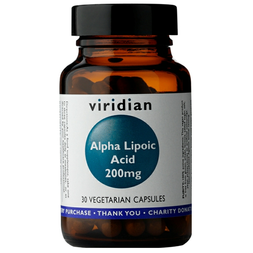 Alpha Lipoic Acid 200mg - 30 Vcaps