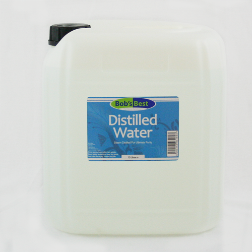 Distilled Water - 15 Litres